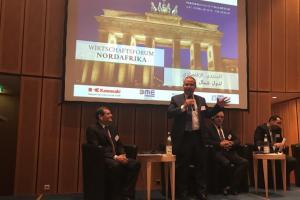 Das Wirtschaftsforum Nordafrika, Berlin, 6. Februar 2018