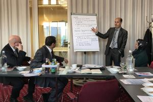 Abstimmungsworkshop, Berlin, 5. Februar 2018